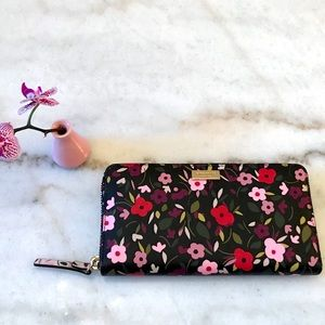 🎀Final Price🎀 Kate Spade Cam Stacy Floral Wallet